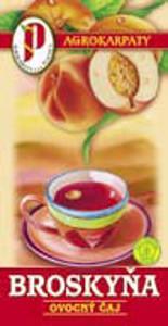 Ovocný čaj - broskyňa