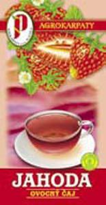 Ovocný čaj - jahoda