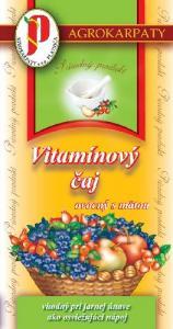 Vitamínový čaj ovocný s mätou