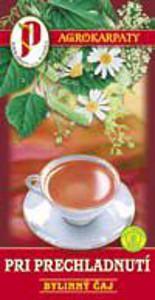 Pri prechladnutí čaj