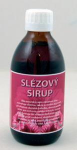 Slezový sirup s trstinovým cukrom