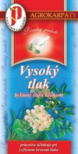 Vysoký tlak bylinný čaj s holohom